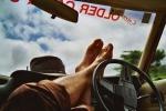 Kaj lahko med vožnjo storite za svoj hrbet?