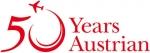 Austrian Airlines praznuje 50. obletnico obstoja
