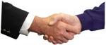 Sprejemanje poslovnih partnerjev