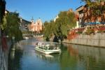 Brezplačna vožnja z ladjico po Ljubljanici