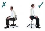 Lepo sedenje za zdrav hrbet