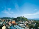 Ljubljanski grad v avgustu