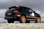 Porsche tekmuje z izpopolnjenim Cayennom S Transsyberia