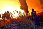 Na Hrvaškem požar zajel ACI marino