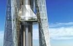 Sveža znanstveno fantastična arhitekturna kreacija