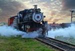 Na sestanek z vlakom